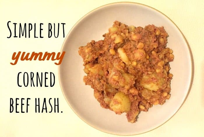 Simple but yummy corned beef hash.