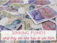Sinking funds - what they are and how to use them....