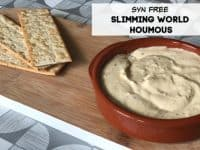 Five Minute Slimming World Syn Free Houmous....