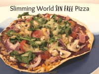 Slimming World Syn Free Pizza....