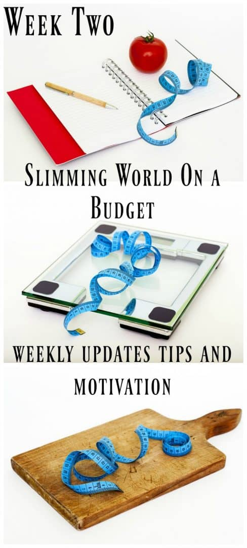 Slimming World On A Budget Week 2 The Diary Of A