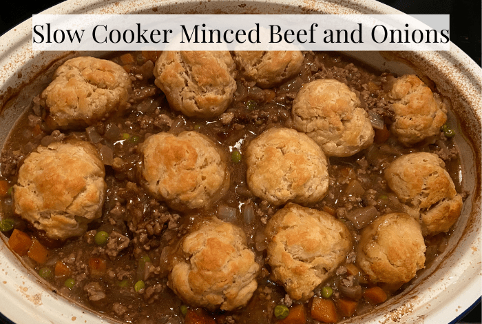 Slow Cooker Minced Beef & Onions Recipe