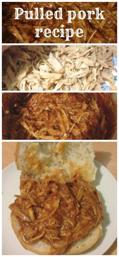 Super easy Slow cooker pulled pork recipe!