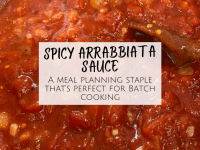 Homemade Spicy Arrabbiata Sauce Recipe....