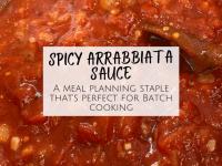 Homemade Spicy Arrabbiata Sauce Recipe....