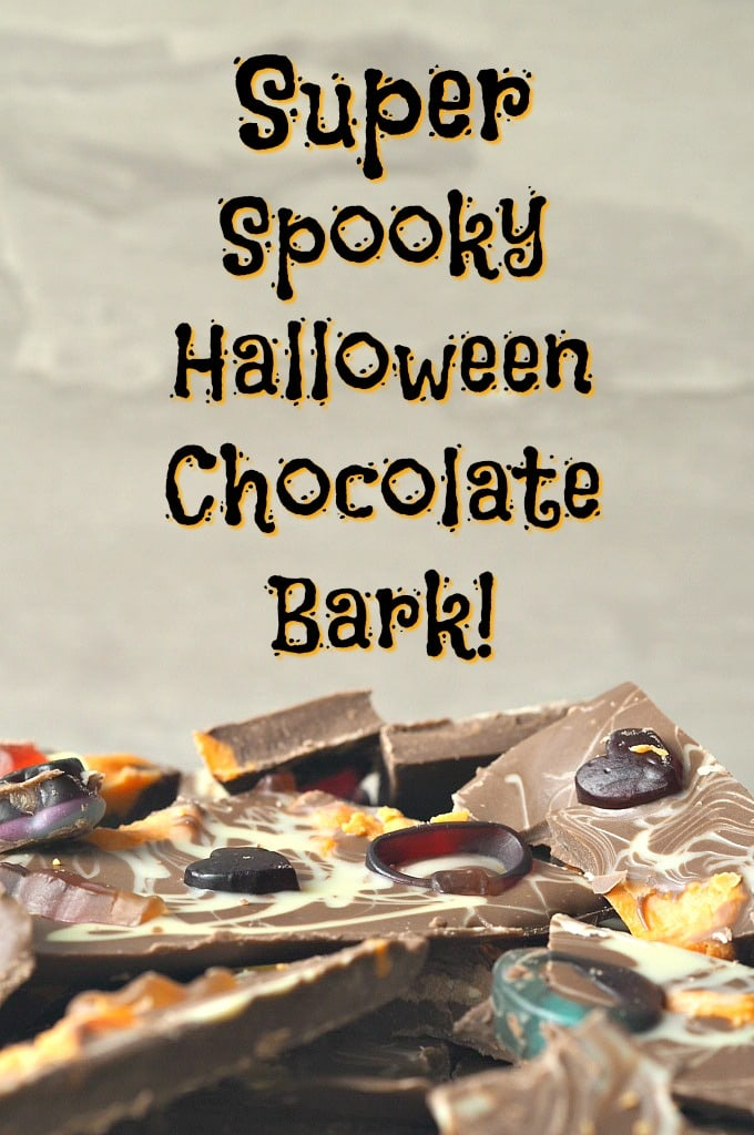 Halloween Chocolate Bark Recipe
