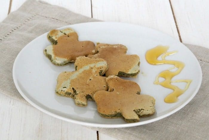 St Patricks Day Matcha Pancakes. Experience the amazing benefits of Matcha Powder in a pancake!