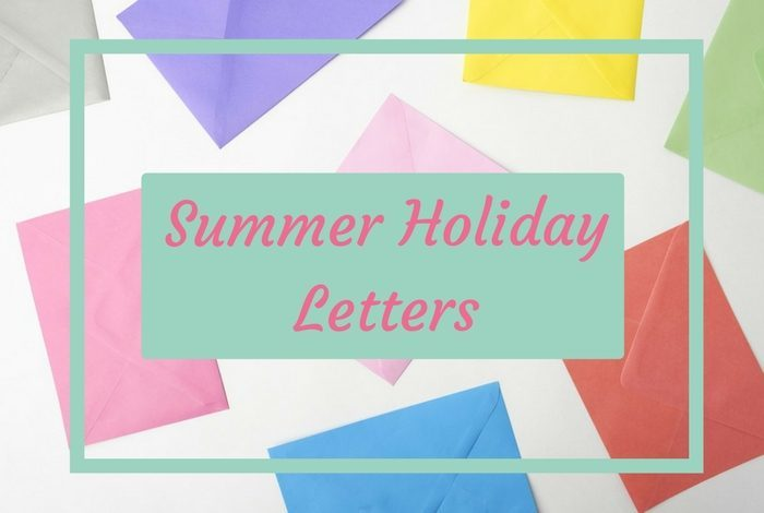 Summer Holiday Letters