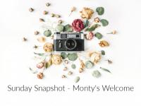 Sunday Snapshot: Monty's First Photo....