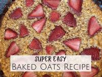 Easy Baked Oats Recipe...