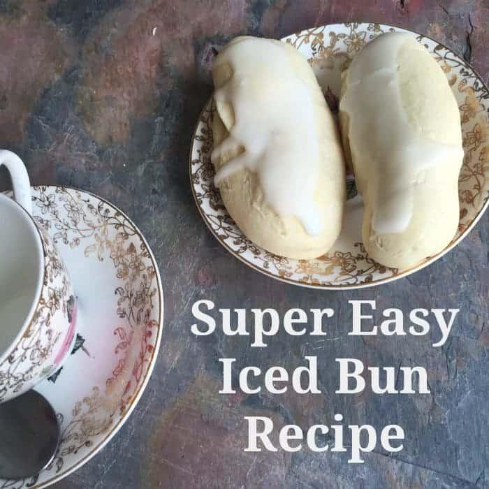 Super Easy Iced Bun Recipe