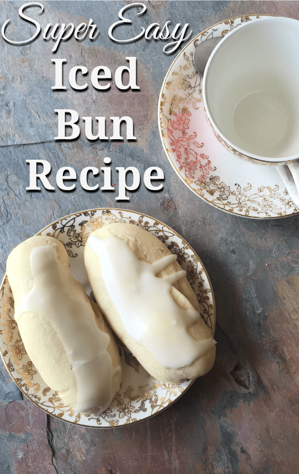 Super Easy Iced Bun Recipe