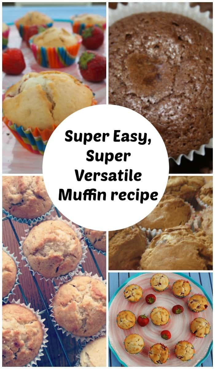Super Easy, Super Versatile Muffin recipe