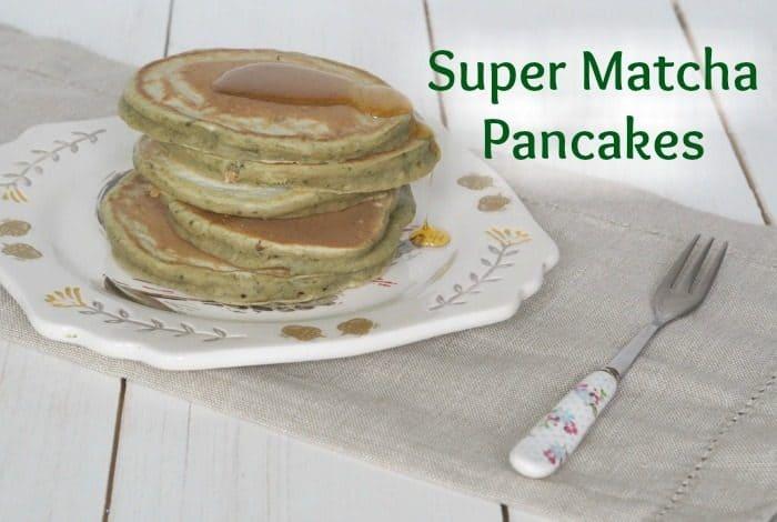 Super Matcha Pancakes