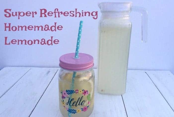 Super Refreshing Homemade Lemonade