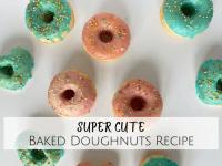 Cute Baked Doughnuts Recipe....