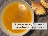Butternut Squash and Ginger Soup...