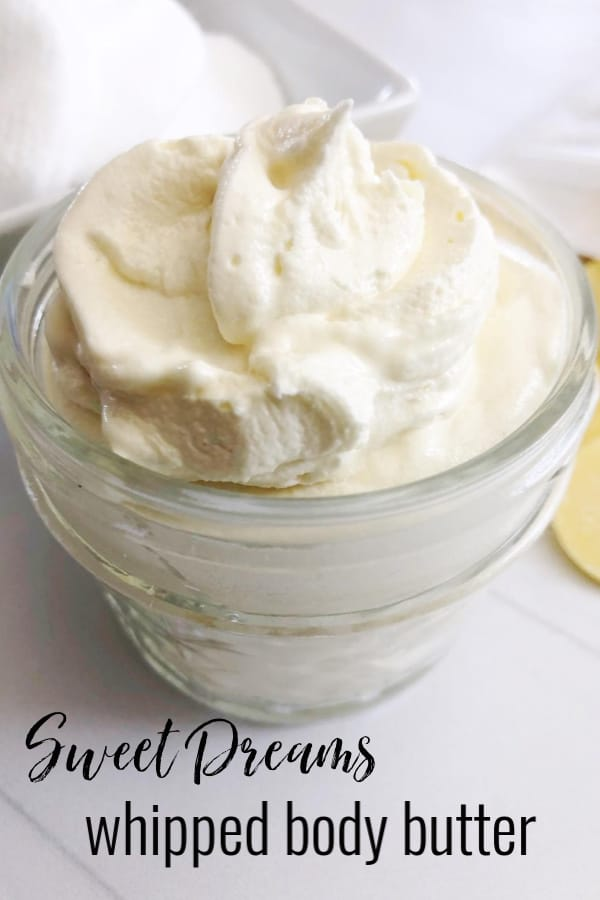 Sweet Dreams Whipped Body Butter #diy