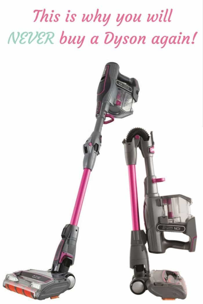 This is the reason why you will never buy a Dyson hoover again! The Shark IF200UKT Cordless Vacuum Cleaner with Duo Clean is simply amazing!