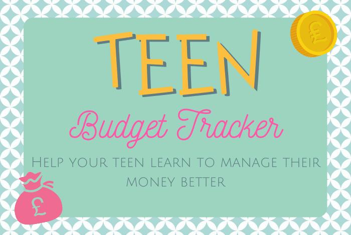 Teen Budget Tracker