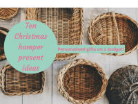 Ten homemade Christmas hamper present ideas....