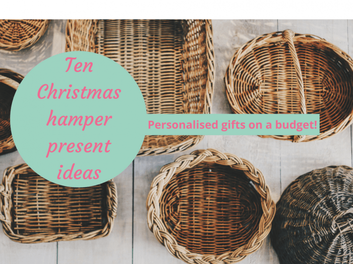 Christmas Hamper Ideas.Ten Homemade Christmas Hamper Present Ideas The Diary