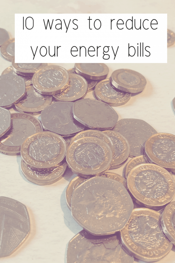 Ten ways to reduce your energy bills