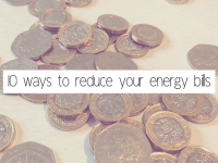 Ten ways to reduce your water bill....