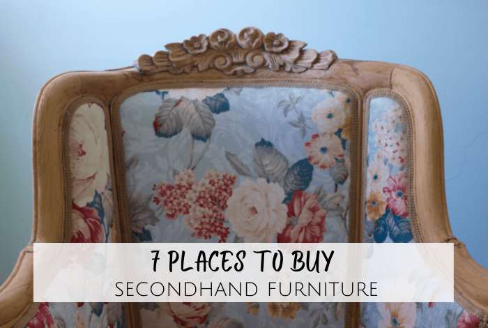 The 7 best places to buy secondhand furniture....