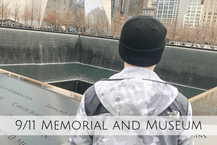 The 9/11 Memorial and Museum in New York.
