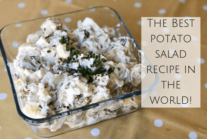The Best Potato Salad Recipe in the World! #potatosalad #sidedish #bbq #potato