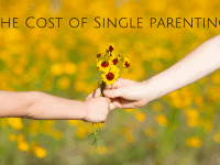 The cost of single parenting...
