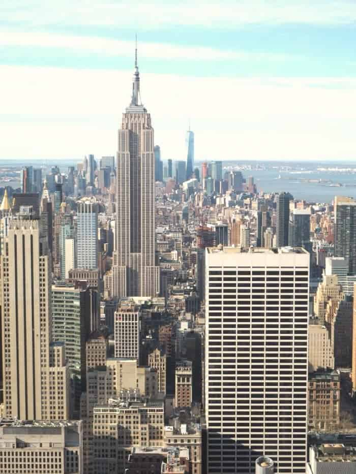 Essential New York Photos - 5 of my favourite photo spots in New York.... The View from the Top of the Rock