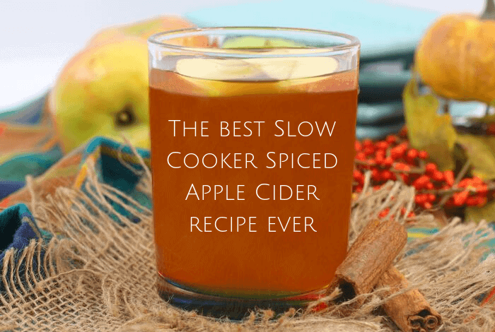 The best Slow Cooker Spiced Apple Cider recipe ever