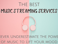 The best music streaming services....