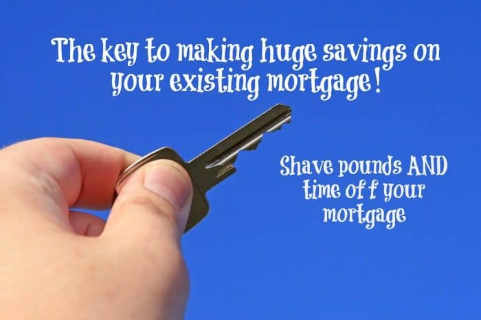 How to save BIG MONEY on your existing mortgage….