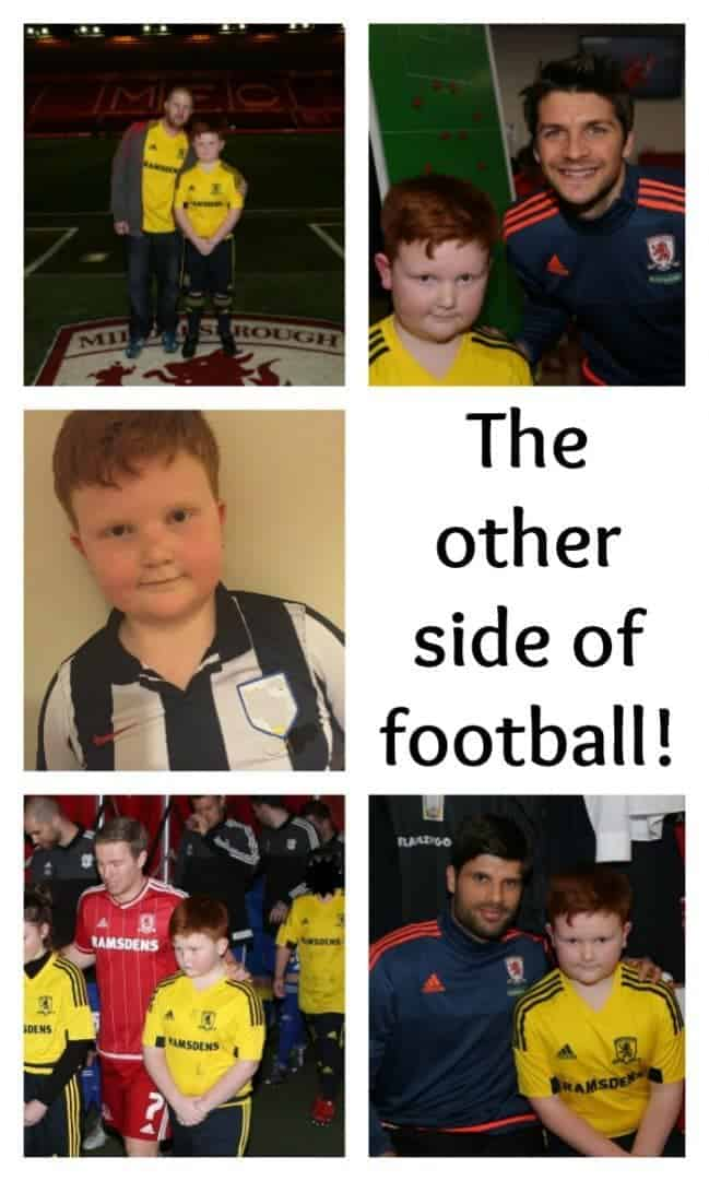 The other side of football....