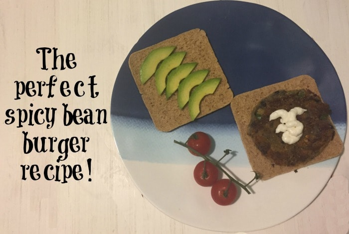 In search of the perfect spicy bean burger recipe….