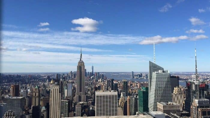 The view from Top of the Rock