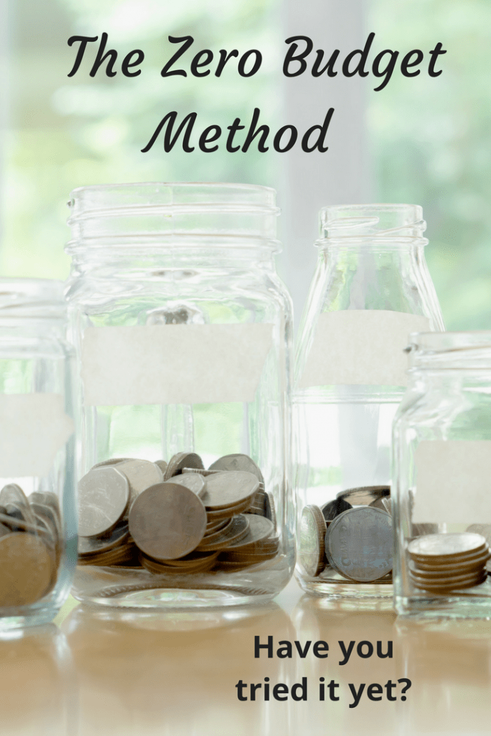 The zero budget method (1)