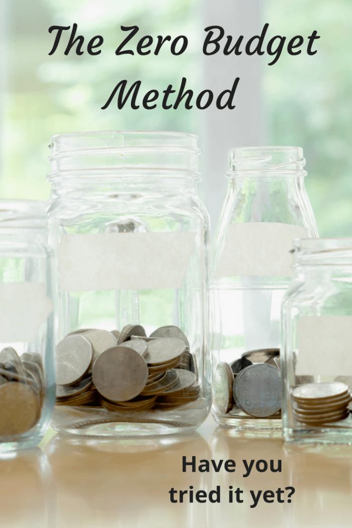 The zero budget method (1)
