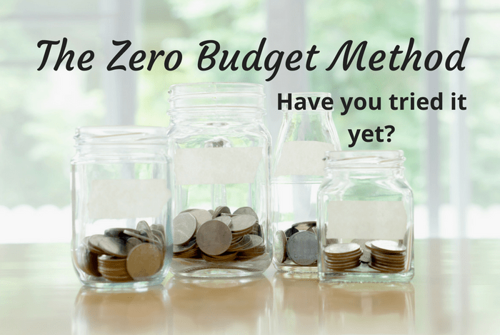 The zero budget method