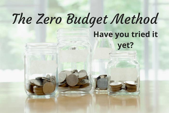 The zero budget method