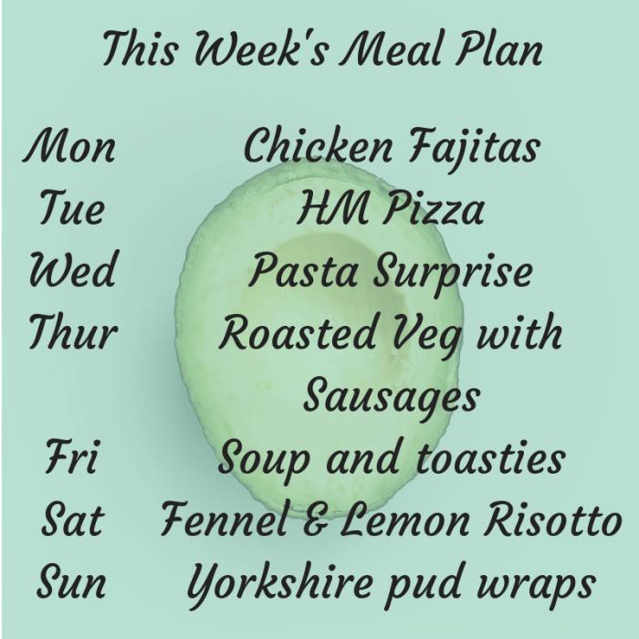 This Week's Meal Plan (1)