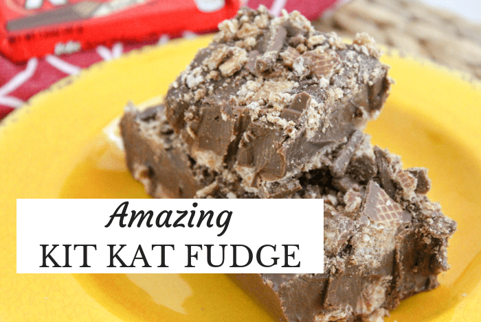 Kit Kat Fudge