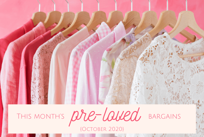This month's pre loved bargains!