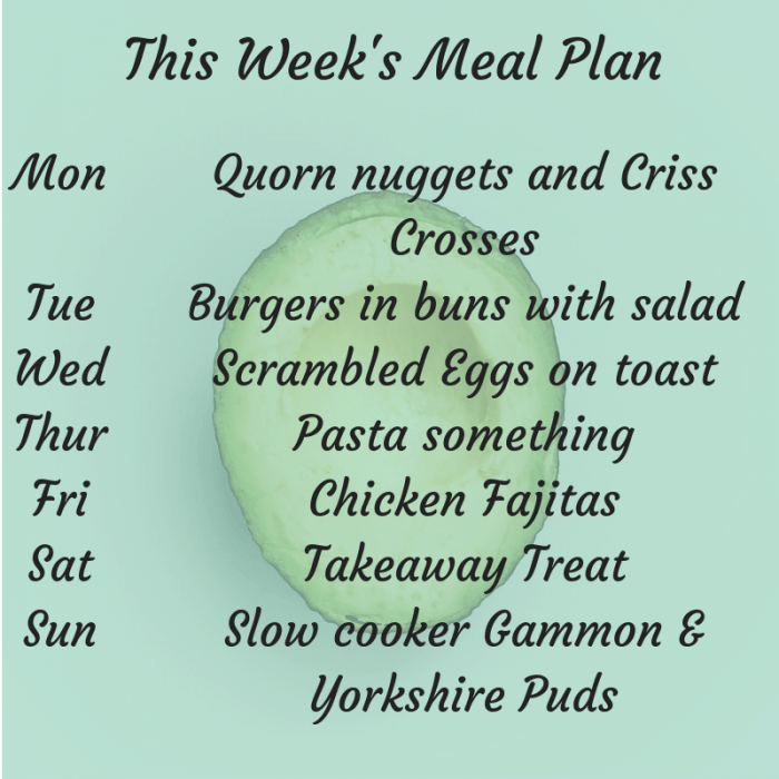 This week's family Meal Plan! #mealplan #mealplanning #mealprep #thrifty #frugalliving #frugal #family (6)