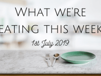 #MealPlanningMonday - Why I'm Enjoying Cooking Again....