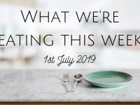 #MealPlanningMonday - the super frugal week....