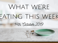 #MealPlanningMonday {14th October 2019}...